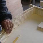 Fasi di lavorazione montaggio - Laboratorio Ebanisteria Ebanistika